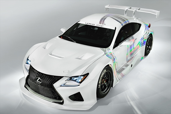 レクサスレーシングがRCF GTコンセプトを出展