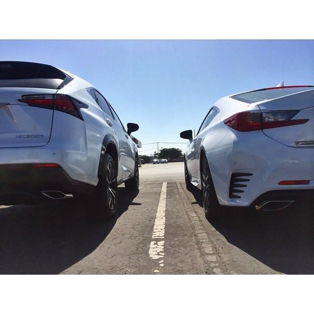 これから発売する2台の白いレクサス車