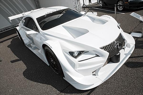 スーパーGT富士戦にてRCF GT500を展示