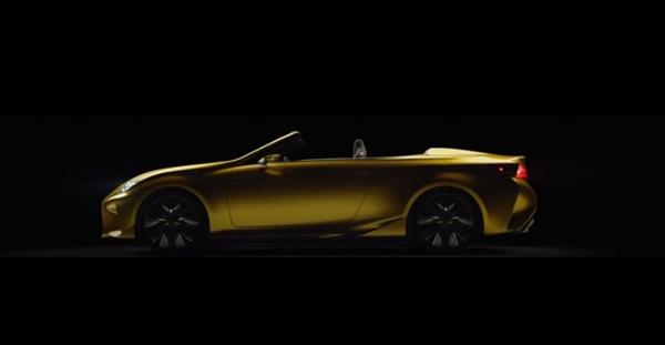 レクサス新コンセプトカーLF-C2の動画