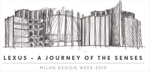 レクサスがミラノデザインウィーク2015に出展