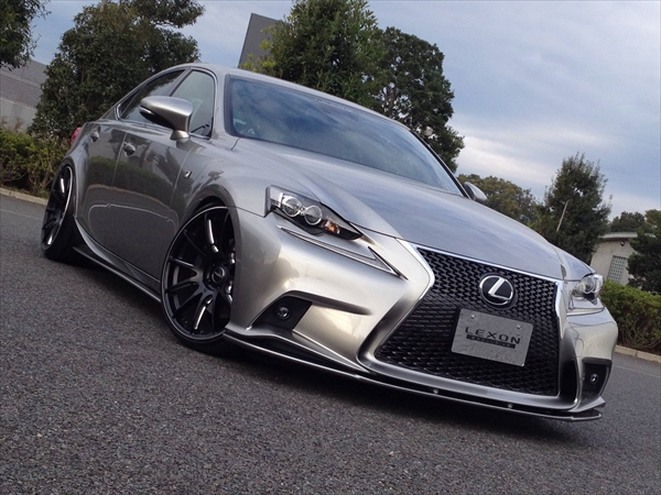 LEXONのLEXUS IS F-Sport Aero Kits&マフラーの価格が判明