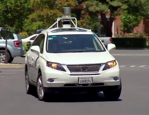 Google社が手掛ける自動運転に使われている車