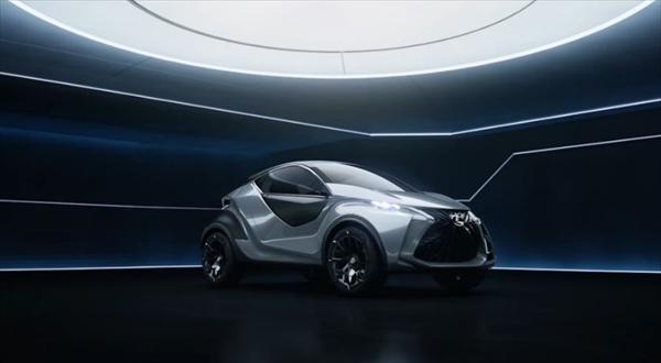 Lexus LF-SA Ultra-Compact Concept動画
