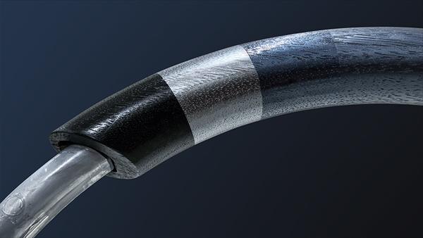 レクサスIS特別仕様のハンドル