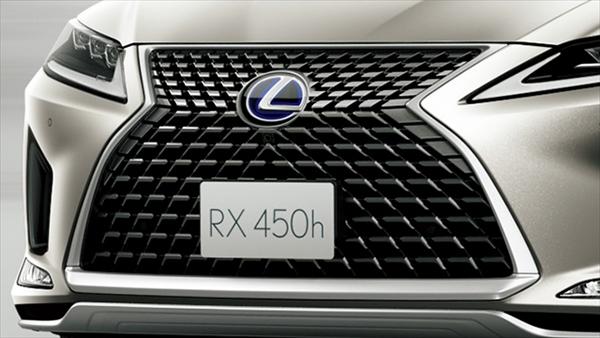レクサスRXのスピンドルグリル変更